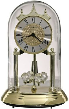 "Howard Miller Christine 9"" High Anniversary Clock"