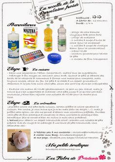 Brin de soie: Tuto Recette de la Porcelaine Froide