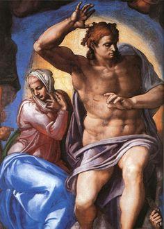 Ο Ιησούς Κριτής και η Παναγία