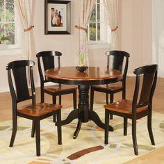 Hazelwood Home Hazelwood Home 5 Piece Dining Set