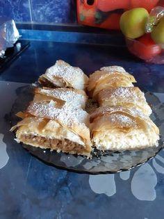 Almás, túrós rétes French Toast, Breakfast, Food, Morning Coffee, Essen, Meals, Yemek, Eten