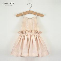 Dancing In The Street Dress (Seashell) by Two Els. www.twoels.com #twoels