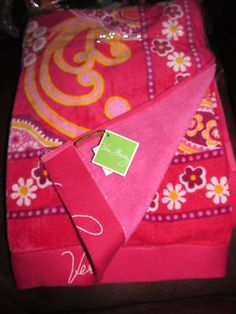 VB Raspberry Fizz Towel - retired