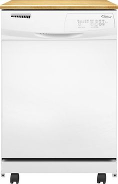 whirlpool portable dishwasher larger front - Portable Dishwasher