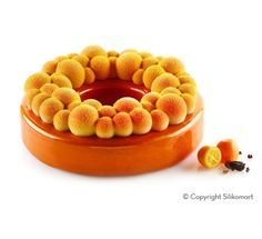 Zestaw form silikonowych Kit Bubble Crown śr. 18cm h 6 cm poj. 1000ml Silikomart Professional