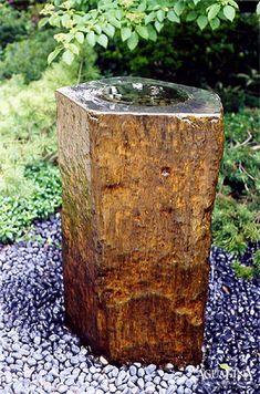 Our natural basalt fountain