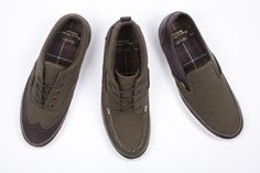 The Vans and Barbour footwear collection is classic.