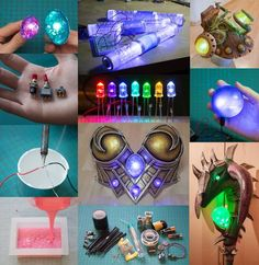 LED cosplay lights