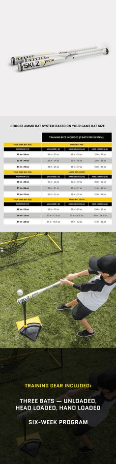 Weighted Balls and Bats 181331: Sklz Ammo Bat Youth W Swing Velocity Training Program -> BUY IT NOW ONLY: $249.99 on eBay!