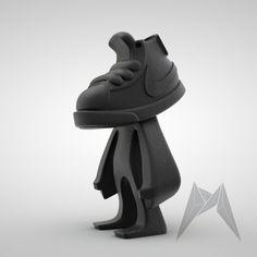 Blazerhead Figures by David Mellor, via Behance