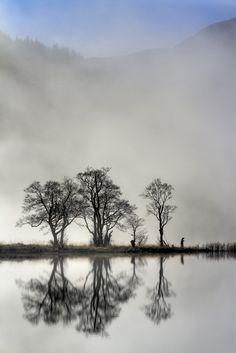 'Chon Fisherman' - Karl Williams   Loch Chon, Trossachs