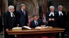 File:Barack Obama signs Parliament of Canada guestbook 2-19-09.JPG
