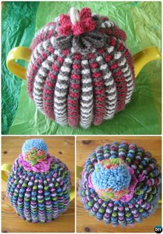 Knit Grannie's Traditional Tea Cosy Free Pattern-20 Crochet Knit Tea Cozy Free Patterns