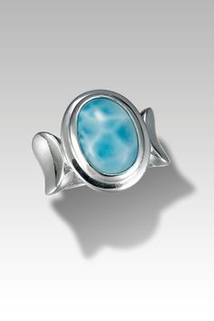 Larimarket - MarahLago Caressa Collection Larimar Ring, $252.00 (http://www.larimarket.com/marahlago-caressa-larimar-ring/)