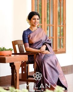 These Real Brides Proved Less Is More In Minimalist Bridal Silk Sarees!! • Keep Me Stylish South Indian Wedding Saree, Saree Wedding, Indian Bridal, Christian Bridal Saree, Christian Bride, Modern Saree, Bridal Silk Saree, Hindu Bride, Designer Silk Sarees