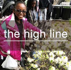 art & eden's local impact program involves providing creative engagement with the kids of the Camden Street School. So, we took a field trip to the High Line.   buy better. do better.
