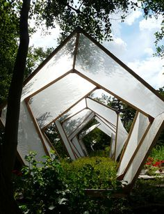Salad Leaf Farming in Amiens, France  Designed by Landscape architects Atelier Altern, Sylvain Morin and Aurelin Zoia