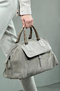 Chic Grey Tote