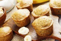 Bananes, yogourt grec et avoine : Un muffin facile et rapide