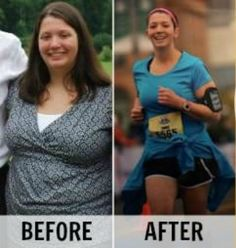 Erika lost 90 pounds, became a runner and kept the weight off! Amazing transformation and story. |via @SparkPeople #fitness #success #motivation #run