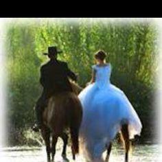 Transportation: Western wedding style
