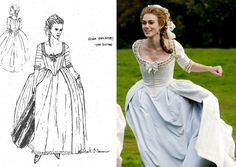 """Michael O'Connor designs nominated for the film """"The Duchess."""""""