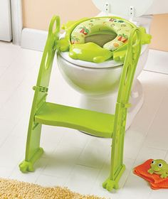 Best potty seat ever.  It encourages independence from the start. @Brittany Ponce Rainey