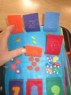 Busy book for Matilda- number flaps 2 by mianyang, via Flickr
