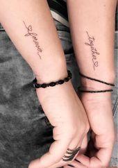 54 Unique Small Tattoo Design Ideas For Girls - Page 48 of 54 Smal Tattoo, Tattoo Platzierung, Small Bird Tattoos, Unique Small Tattoo, Small Couple Tattoos, Small Wrist Tattoos, Tattoos For Women Small, Unique Tattoos, Tattoo Small