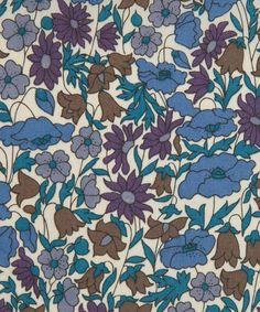 Poppy And Daisy K Tana Lawn from the Liberty Art Fabrics - #textile