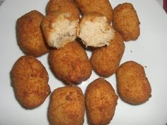 Croquetas de atún Thermomix Food Humor, Everyday Food, Sin Gluten, Kitchen Recipes, Food To Make, Food And Drink, Favorite Recipes, Healthy Recipes, Snacks