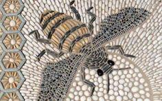 Stone & pebble garden mosaics