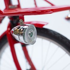 MADSEN LED Front Bike Light - STEEL