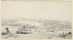 Sydney 1830 [view of Woolloomooloo Bay and Garden Island] Hunter Street, First Fleet, Botany Bay, West Indian, Historical Pictures, Alaska, Colonial, Sydney, The Past