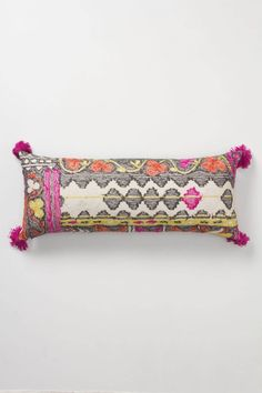 Nearer Nurata Long Pillow - Anthropologie Anthropologie Pillows, Anthropologie Home, Fall Pillows, Throw Pillows, Decorative Accessories, Home Accessories, Ottoman, Long Pillow, India Colors