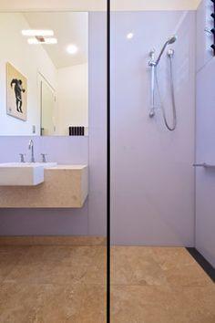 Possum Creek House contemporary-bathroom