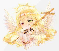 Commission for: LindaEvans- Saint Pious . Com: Saint Pious Anime Chibi, Webtoon, Fashion Art, Saints, Asia, Deviantart, Celestial, Cute, Angels