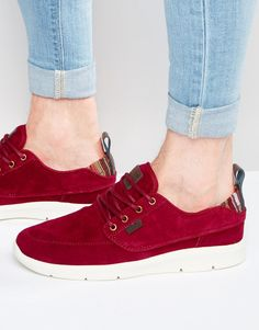 252a8a4d5f Image 1 of Vans Brigata Lite Trainers In Red V4OTIVD Shop Vans