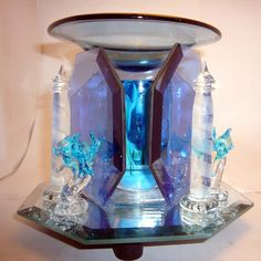 Dolphin and Lighthouse Electric Warmer Electric Warmer, Oil Warmer, Soft Light, Night Light, Snow Globes, Salt, Fragrance, Candles, Mood