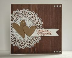 wooden background wedding card