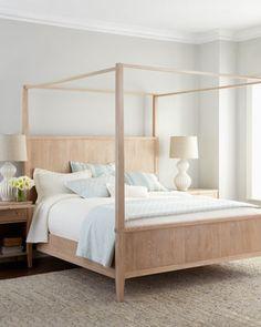 Karington Natural Bedroom Furniture at Horchow.