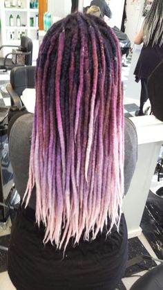 Wool dread extentions from Tattered Elegance