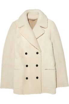 Joseph Cadet reversible shearling coat. Wear yours with classic knitwear and skinny jeans. | NET-A-PORTER