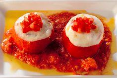 Pomodori ripieni con mozzarella