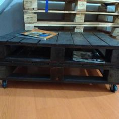 Mesa Ratona - The Easy Pallet Table