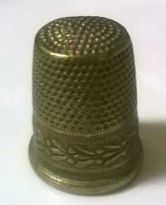 Thimble my mother in law used 2   (egen)
