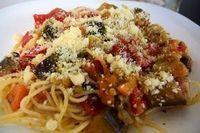 Greek Recipes, Veggie Recipes, Vegetarian Recipes, Healthy Recipes, Healthy Food, Spaghetti Recipes, Pasta Recipes, Cookbook Recipes, Cooking Recipes