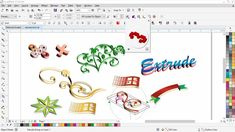 extrude tool complete tips with cdtfb --- corel draw tutorials for begin. Corel Draw Tutorial, Web Creation, Hd Design, Pc System, Graphic Design Software, Types Of Cameras, Visual Communication, Coreldraw, New Fonts