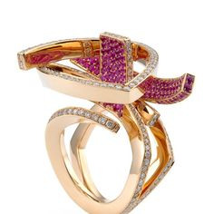 my pick of the day ... ring by GEORG HORNEMANN  insprired by #art #abstraction #cubism #architecture #geometry