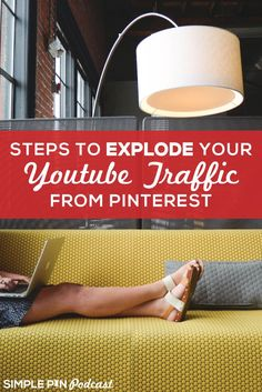 Are you using social media to drive traffic to your YouTube? Check out these easy tips to explode your YouTube traffic from Pinterest!